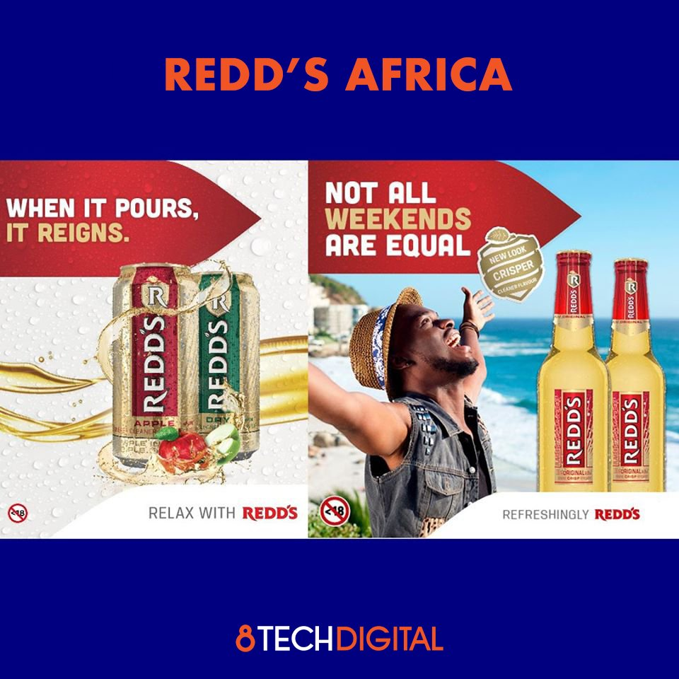Redd's Africa – Valentine's Posts The social media campaign ran for Redd's Africa generated the following results: REDD's Kenya : 447 492 reach 13 000 likes REDD's South Africa: 10 000 likes #socialmediamarketing #digitalmarketing #consumerengagement #africa #Redd's #marketing https://t.co/epXfECdoSD