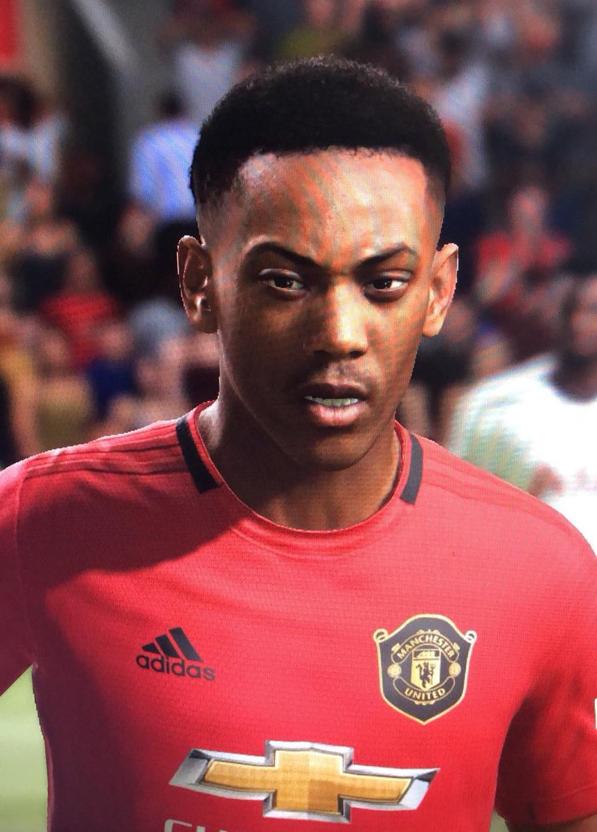 United Zone On Twitter Anthony Martial And Marcus Rashford Face Scans On Fifa21