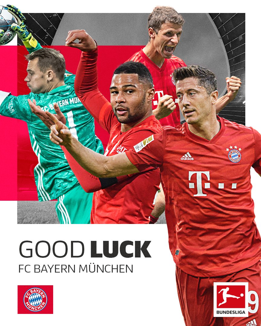 Go well tonight, @FCBayernEN 🍀 #FCBFCB #UCL