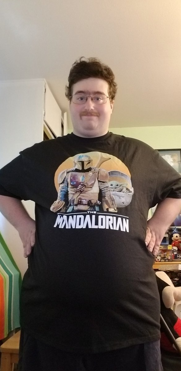 Matthew Hopkins On Twitter Check Out This Amazing Mandalorian Shirt That I Got From Target Recently And I Will Be Wearing This Shirt When Season 2 Of The Mandalorian Premiers On Disney