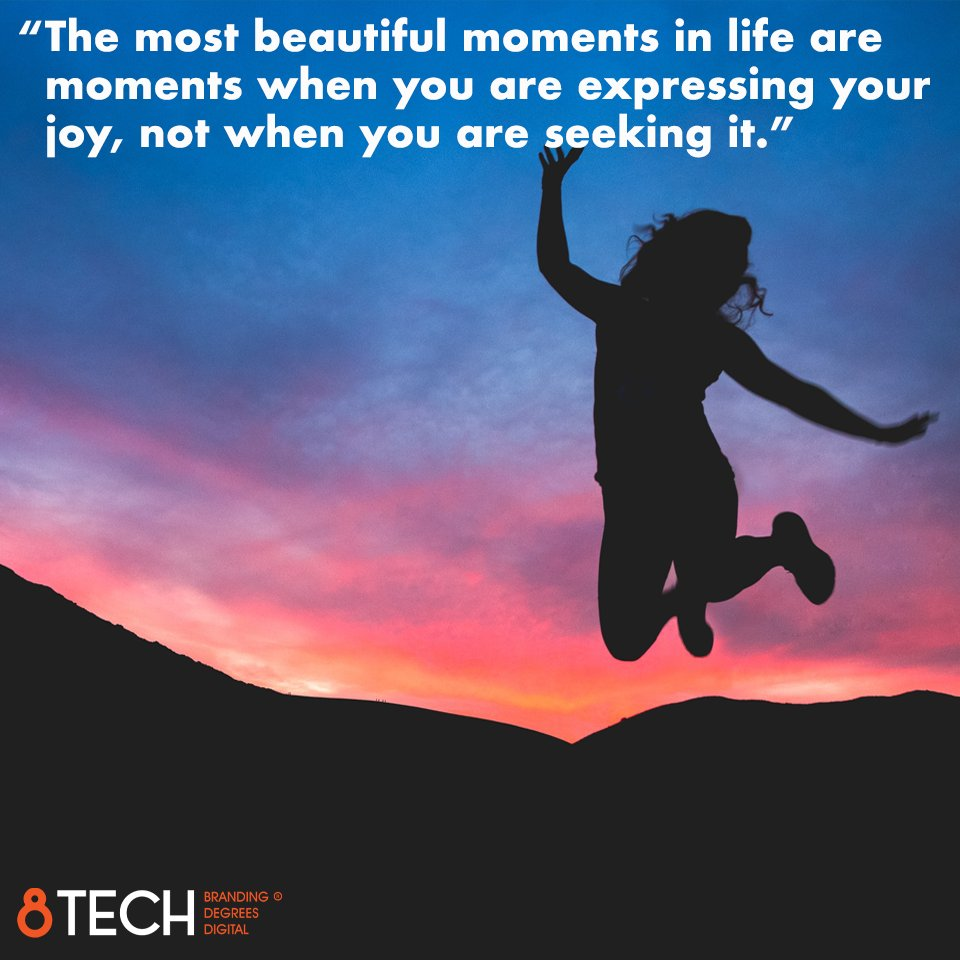 """""""The most beautiful moments in life are moments when you are expressing your joy, not when you are seeking it.""""  - Sadhguru  #quoteoftheday #motivation #quote #inspiration https://t.co/i5ITNeQQ2g"""