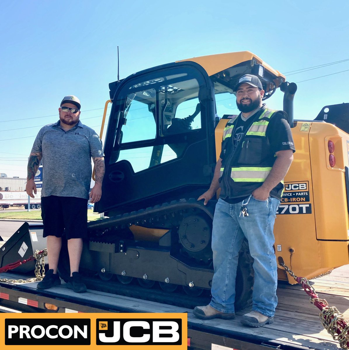 ProCon JCB Colorado just sold a 270T Skid Steer Loader -Congratulations to the new owners! 🎉  See more Skid Steer Loaders for sale on our website: https://t.co/cu6OMKNKIX  #ProConJCB #JCB #ForSale #Checkitout #AvailableNow #Congrats #NewSale #CustomerSatisfaction #Denver https://t.co/nFR4p4g71d