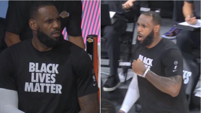 【影片】詹姆斯怒吼裁判遭瘋傳!本尊回應:當黑人和白人打球,球被搶走,那你會怎樣?