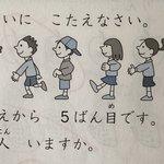 そろそろこういう問題はアウトでは?どれが女の子か男の子かを絵から読み解く算数の問題。