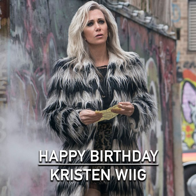 Happy Birthday, Kristen Wiig\s from in theaters October 2!