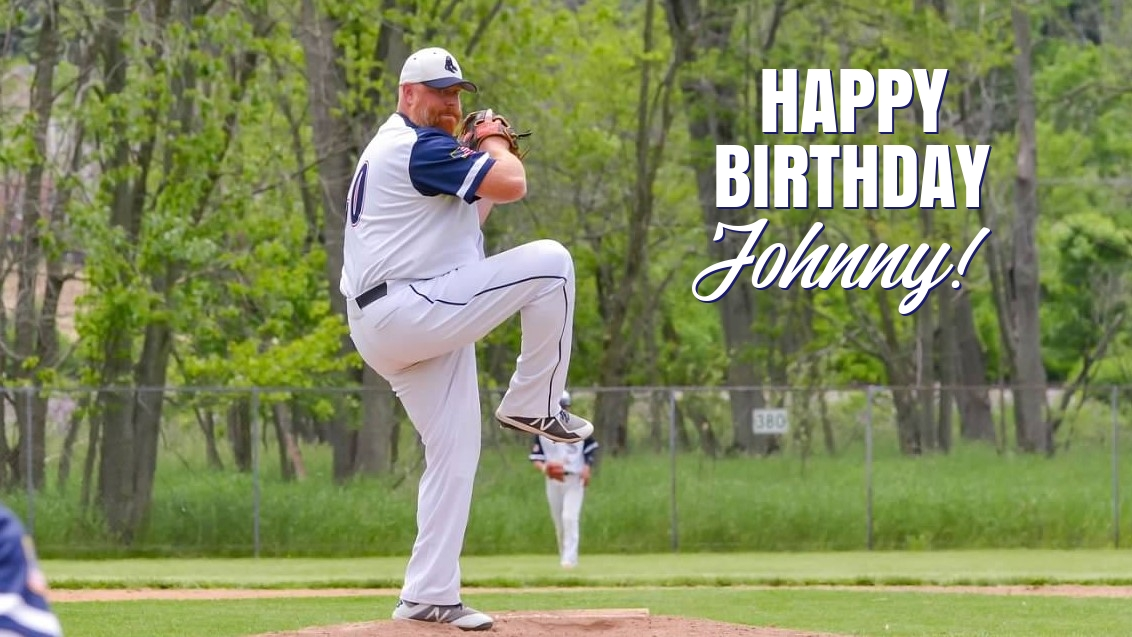 @BlueSoxWI is wishing the happiest of birthdays to our main man on the mound, @johnnyarnold20! To the #pitcher who's been intimidating hitters for longer than he'd care to admit, we hope you're having the BEST day! #HappyBirthday, Big Red!  #HBD🎂 #Baseball⚾️ #SoxFamily🧦💙 https://t.co/9nL1NIPa7i