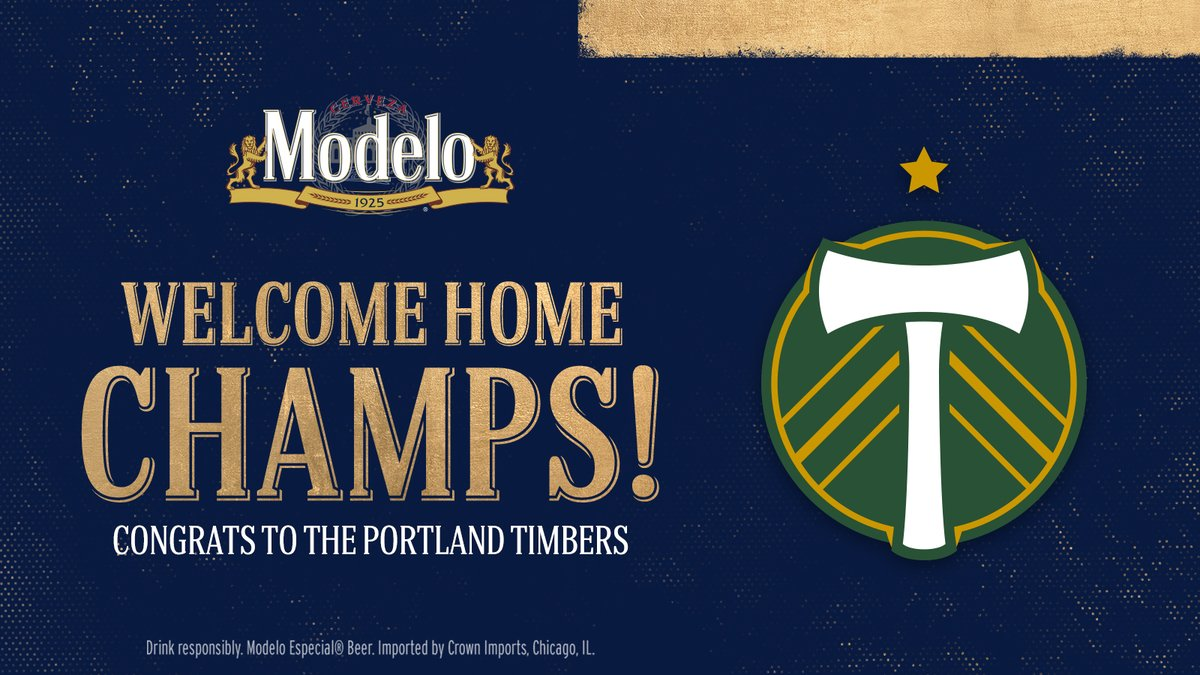 The champs are back! Congrats to the @TimbersFC on taking home the trophy. ¡Salud! https://t.co/YwS4cqc5F0