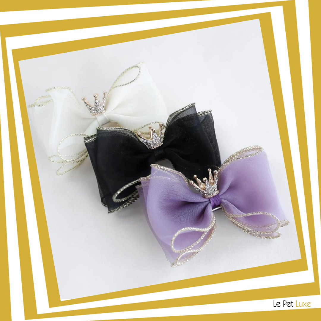 Next time your little Diva Princess gets dressed, don't forget her crown bow dog barrette.  BUY NOW! https://t.co/LguF2gPZks  % of $ sales will support pet rescue.  #dogs #dogsoftwitter #likeforfollow #petbows #Dog  #stylingpet #style #stylish #doggy #dogbowl #cat #CatsOnTwitter https://t.co/rQAtKVj8WW