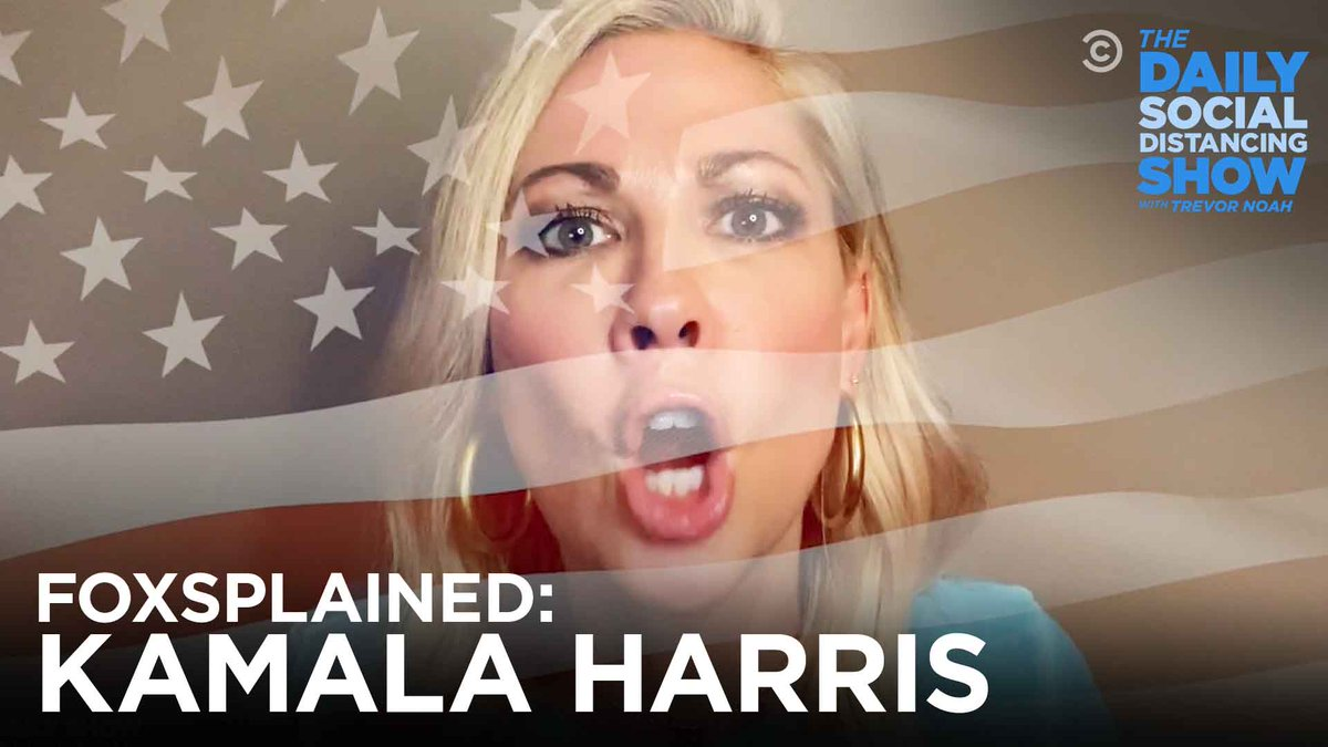 Who is Kamala Harris? We made @DesiLydic watch Fox News for 64 hours straight to find out: