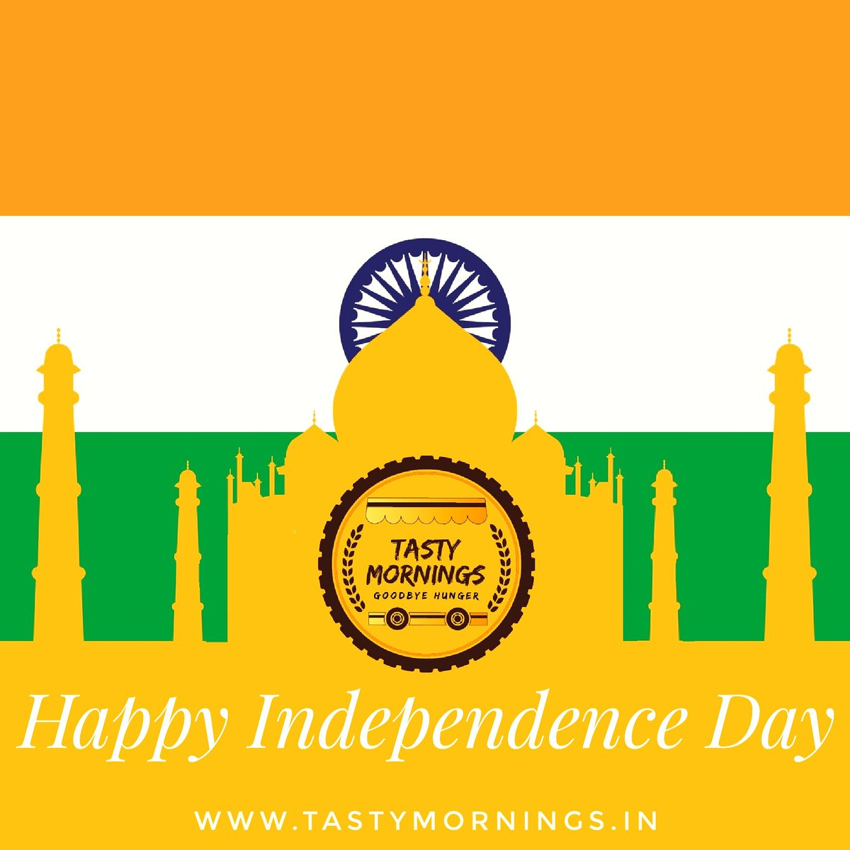 This Independence Day let's take a pledge to protect the peace and unity of our great nation. Happy Independence Day! #independenceday #india #Freedom #tasty #morning https://t.co/oJf2fjYjFs