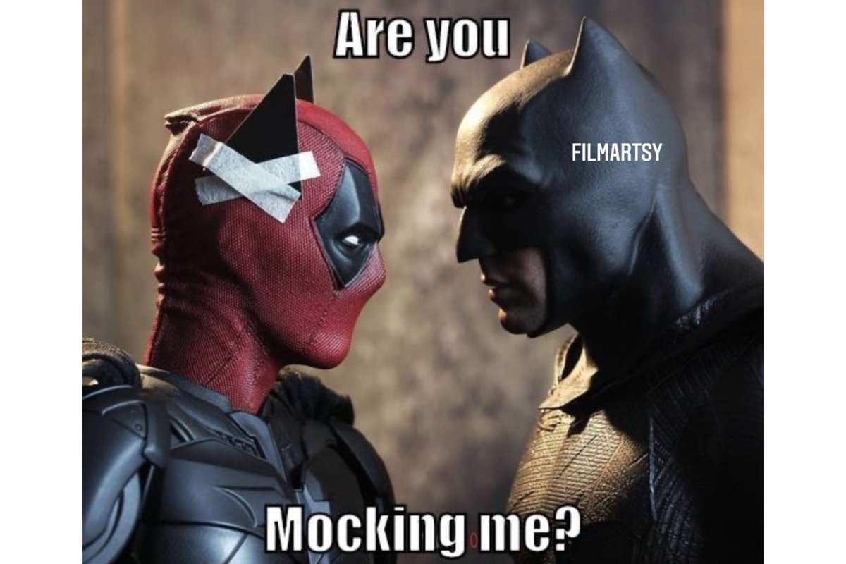 This is hilarious 😂🤣  #marvel #marvelcomics #marvellegends #marveluniverse #marvelmemes #mcu #mcumemes #marvelentertainment #memes #avengers #game #endgame #memes😂 #deadpool #batman #dc #dccomics   #memesdaily #filmartsy #filmartsymemes #filmonger #filmongermemes https://t.co/3W4rSF6wBz