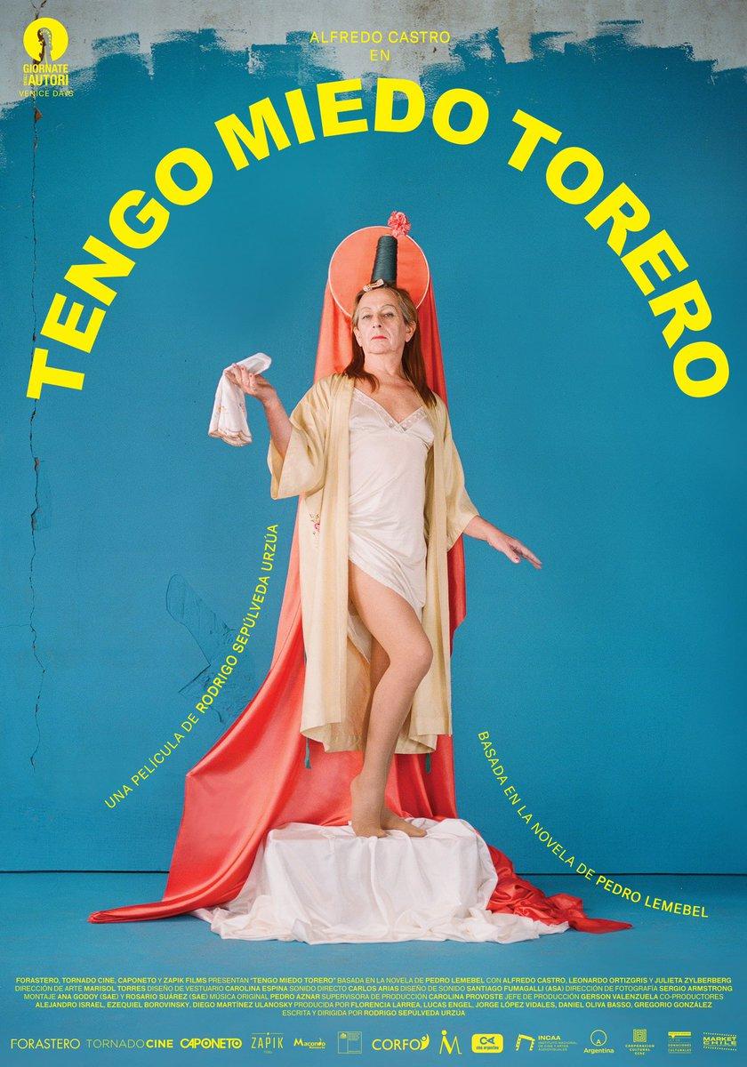 """Tengo Miedo Torero on Twitter: """"Presentamos el primer afiche de """"Tengo  Miedo Torero"""" realizado por la reconocida fotógrafa mexicana española  Camila Fálquez, y el diseñador chileno Simón Sepúlveda. #TengoMiedoTorero  #AvantPremier #Afiche… https://t.co ..."""