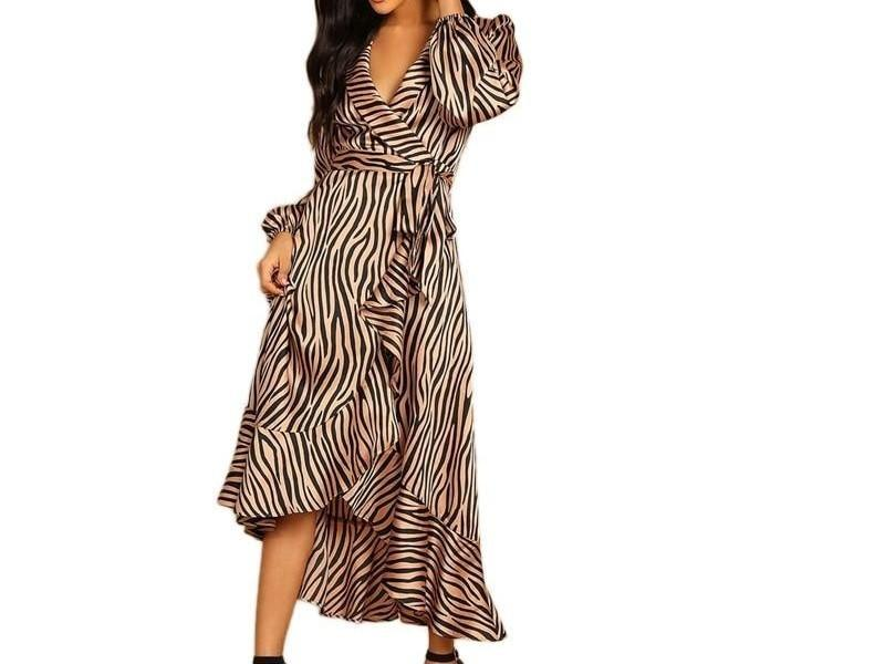 🤯 You won't believe this! Soi-disant Deep V Neck Shawl Collar Surplice Wrap Flounce Animal Zebra Belted... selling at $48.99 🤯 by SOI-DISANT  ⏩ https://t.co/97HuVLaq5q  #soidisants #ootd #stylish https://t.co/azn3Yt2qOx