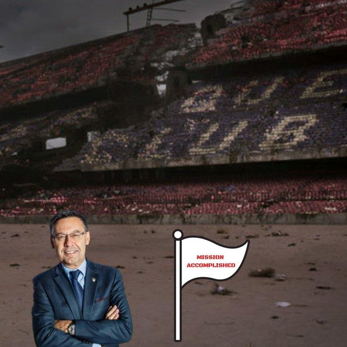 Barcelona - Bayern disgrace - Bartomeu did it
