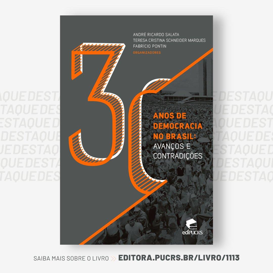 "#LEITURA ""30 Anos de Democracia no Brasil: avanços e contradições"" 👉 https://t.co/DIDUKr6eUP 📙 https://t.co/rZY7psUiPN"