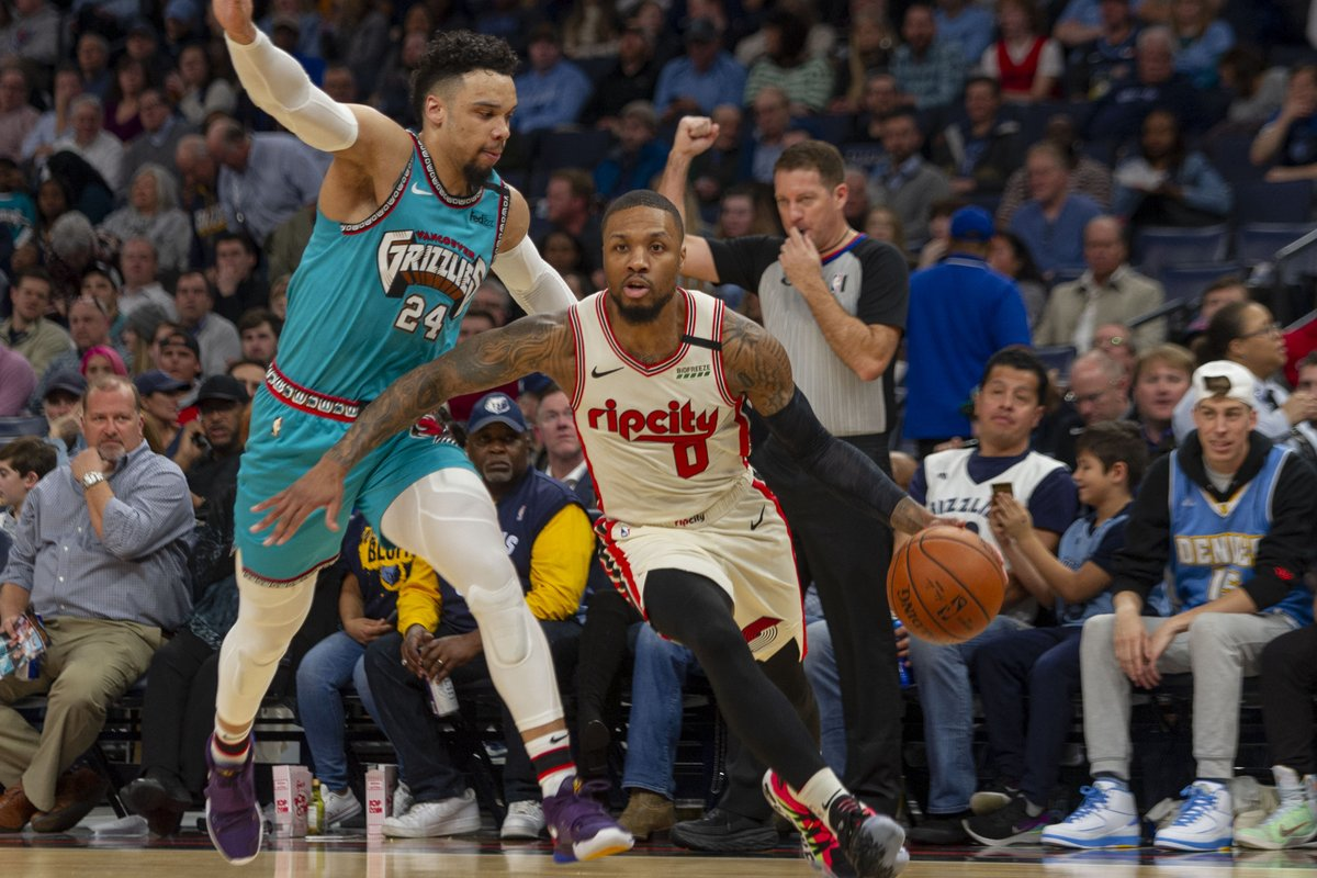 Which team shall be heading off to face the Lakers in the playoffs? Grizzlies vs. Trail Blazers: Western Conference Play-in Game Prediction. #RipCity #GrindCity #WholeNewGame sportstalk365.com/grizzlies-vs-t…