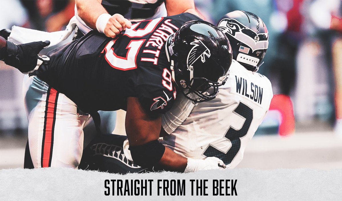 And here are your questions and poll results, @AtlantaFalcons fans. Topics include: •Keys to beating the #Seahawks •Takk McKinley, #Falcons defense •Teams most pressing concern •Special teams, division title hopes, more 📬SFTB link - atlfal.co.nz/34dInFV