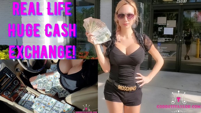 1 pic. Today's Cashmeet is up!!! 💸  Congrats Slave Sal for getting chosen to come to SoFlo & hand Goddess