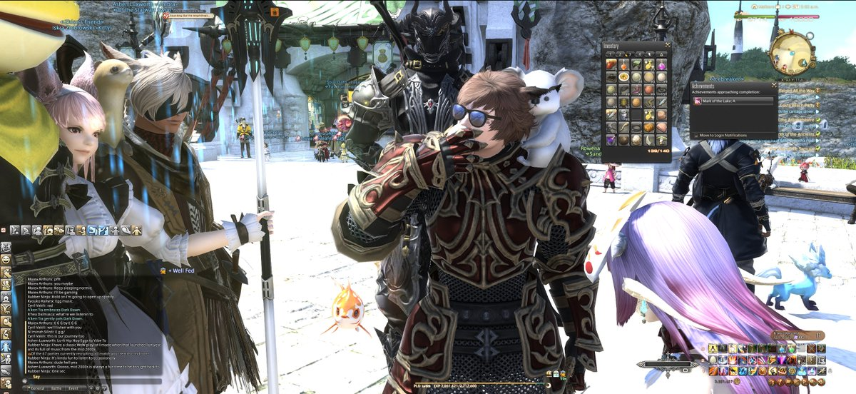 Logged onto FFXIV and some guy gave me 999 eggs and asked me to eat them. Im down to 685. On Marlboro if you want to come watch.