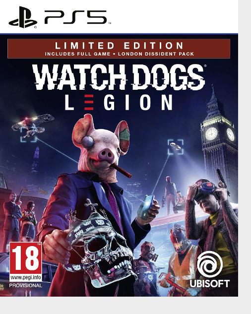 Resetera Nt On Twitter Watch Dogs Legion Ps5 Box Art Msrp 59 99 Ps4 Version 49 99 On Amazon Upgrades For Free Https T Co H61xklyq7h Https T Co Ywqdmwujio
