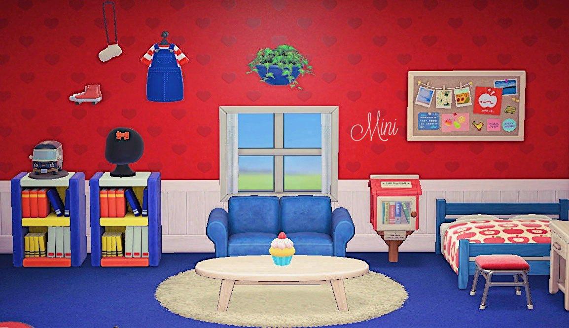 キティちゃんが暮らす部屋🍎#あつまれどうぶつの森 #あつ森写真部 #あつ森#AnimalCrossing