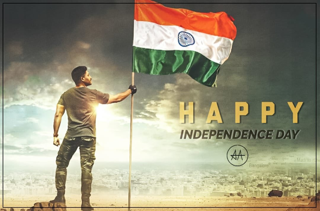 Happy Independence Day to my fellow Indians . Deep Gratitude in our hearts for those who sacrificed their lives for us . Jai Hind ! https://t.co/JnR0WNW0Ug