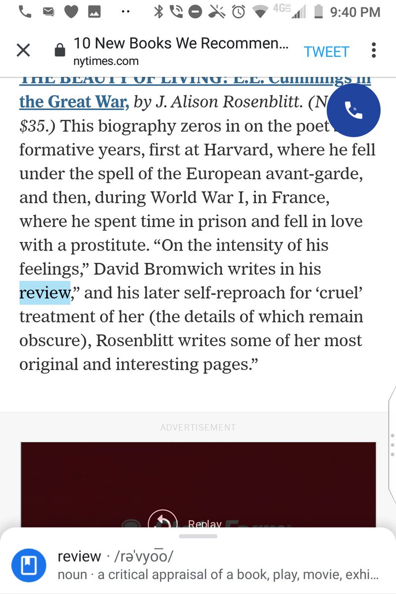 "@nytimes This pair of quotation marks after ""in his review"" are (a) facing the wrong way and (b) in the wrong spot.  @GregoryCowles https://t.co/yp87S84mCP"
