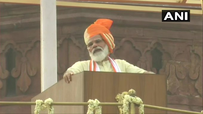 PM Modi targets China in Independence Day speech