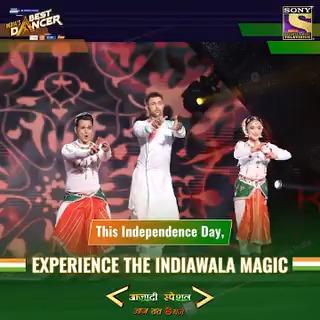 Kehte inko pyaar se Indiawale BEST Lavani dancers! 👑Watch #RutujaTheBest & Ashish tonight in #AzaadiSpecialWithIBD at 8 pm with a special guest @SonuSood.   #IndiasBestDancer @terencehere @geetakapur @bharti_lalli @writerharsh #MalaikaArora https://t.co/fjPmOM6oAh