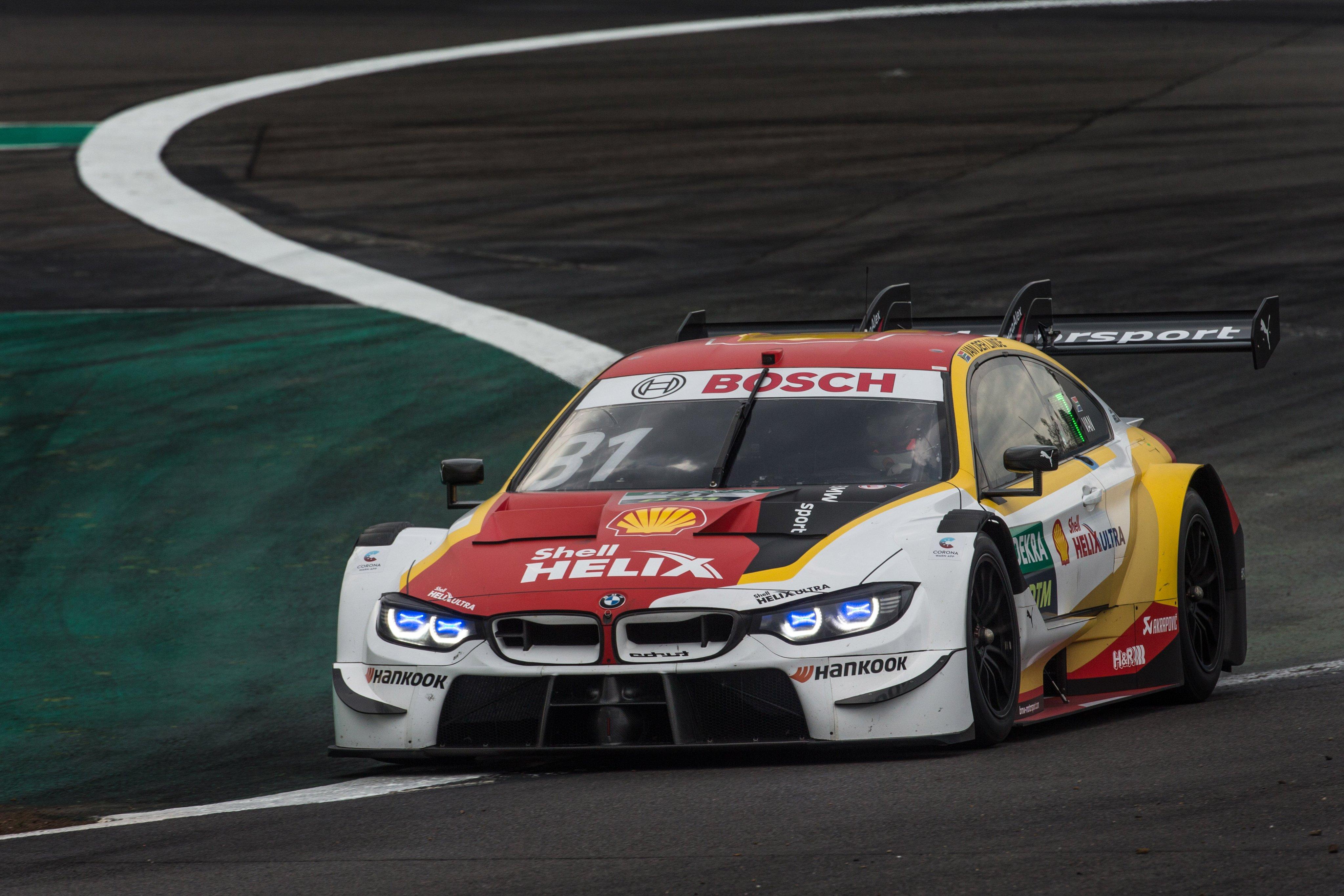 DTM Lausitzring 2020 Sheldon van der Linde
