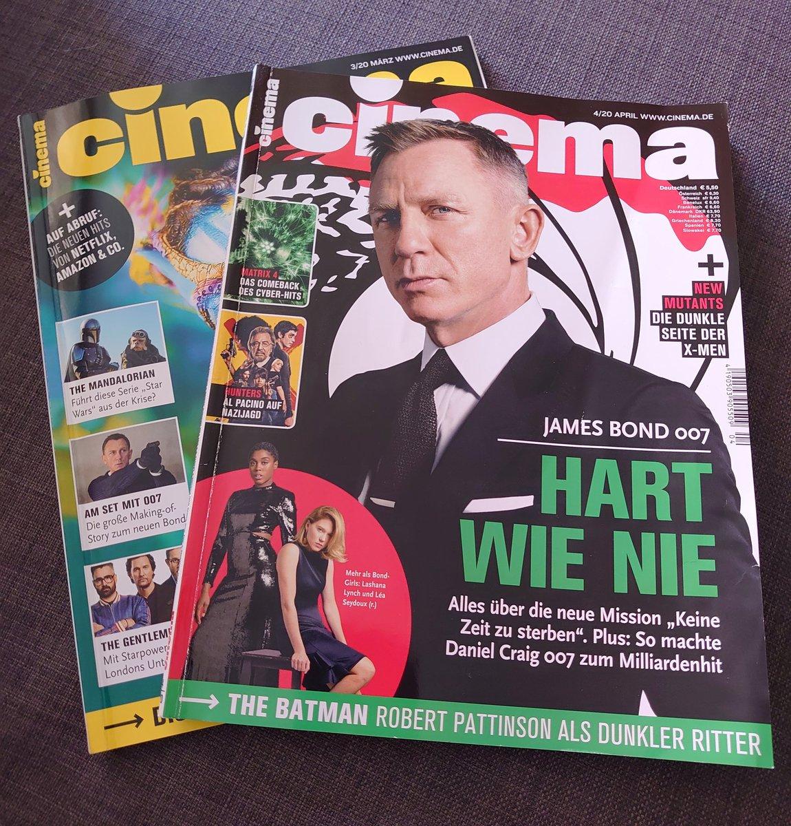 Mal Zeit zum Lesen....und die Wartezeit  überbrücken   @CINEMA_KINO_DVD #NoTimeToDie https://t.co/iUf3s9RLqx