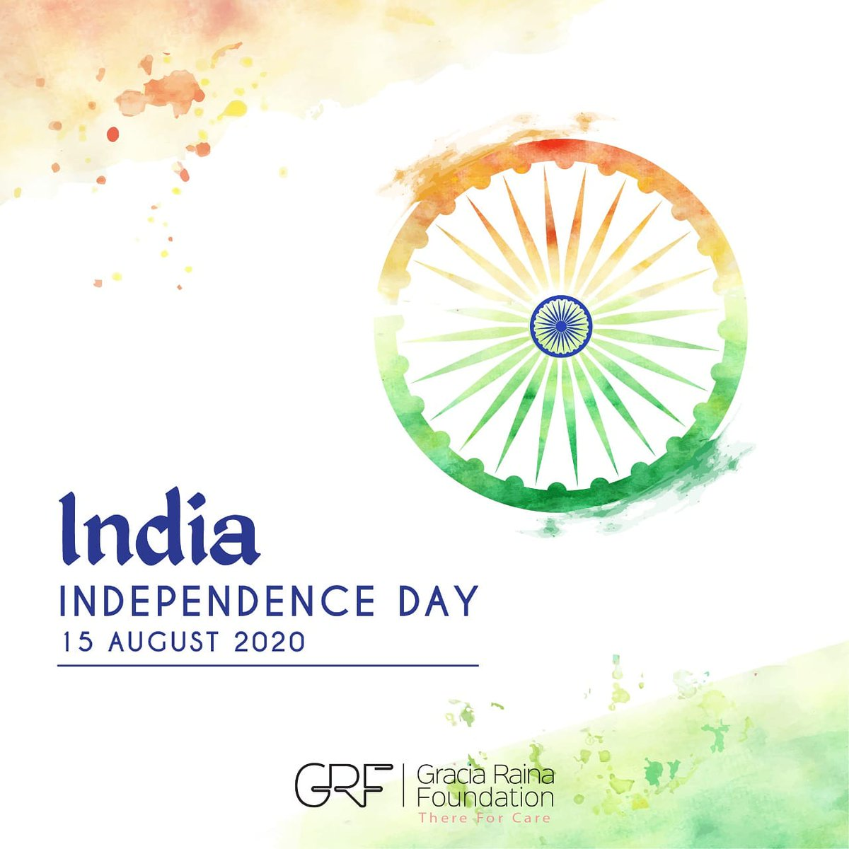 Today, let us all pledge for a tomorrow, in which we are able to make prudential health-related choices independently.  Wishing everyone a happy #IndependenceDay2020. Have a great day!   - Team GRF