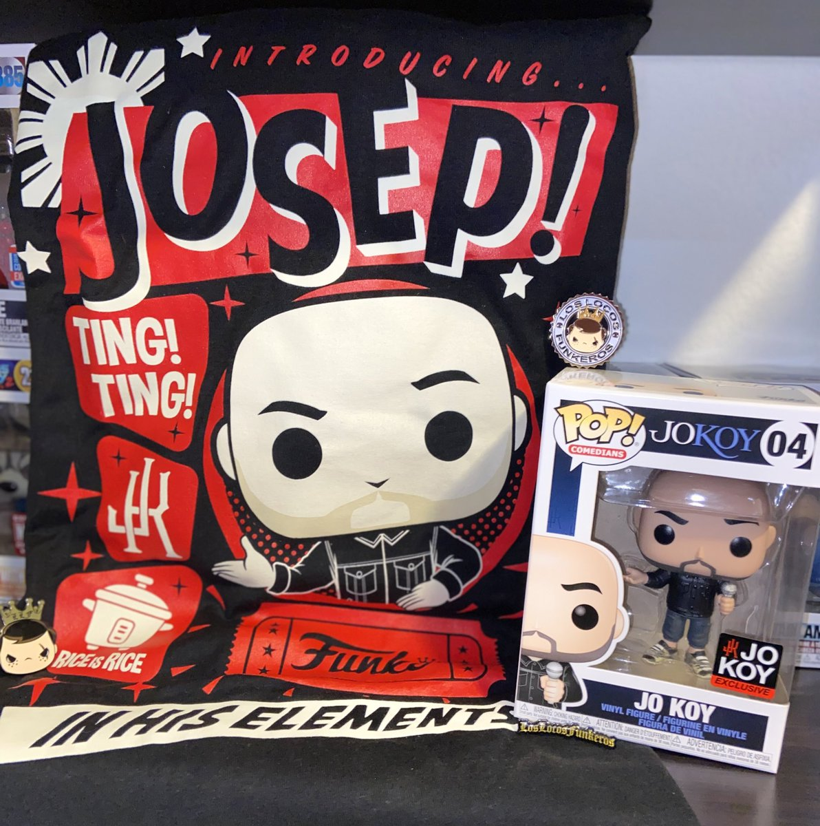 Mail Call!!! My @Jokoy #Funko & #PopTee Arrived Yesterday! I Love The Pop & The Tee Is Too Cute! #llfpincheckfridays #LLF #Jokoy @LocosFunkeros @OriginalFunko https://t.co/tM4FjkKP2a