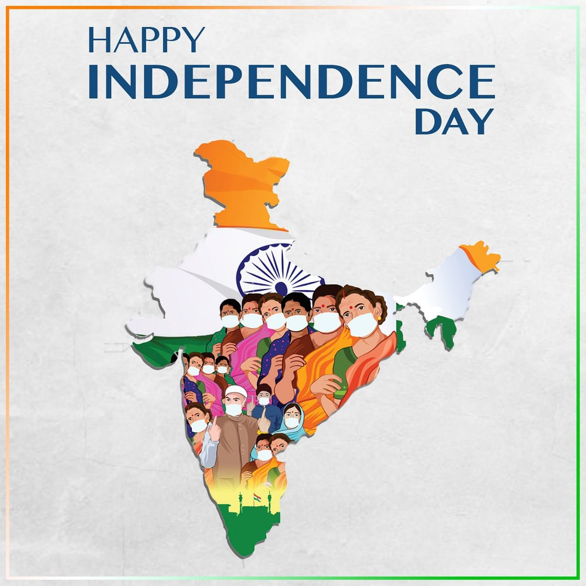Wishing our fellow citizens a #HappyIndependenceDay.  @Shankar_Live @EhsaanNoorani @loy_mendonsa  #IndependenceDay2020