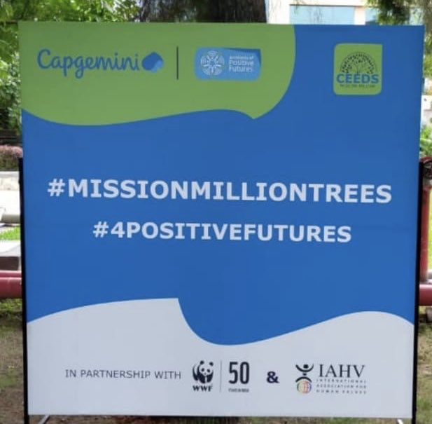 Make sure you plant one tree every week wherever you can and be a part of the #MissionMillionTrees campaign initiated by #IAHV, @Capgemini. @WWF and others! Don't forget to post your picture with your sapling, using the hashtag and tag us for a RT!! https://t.co/MpOtoByCKI