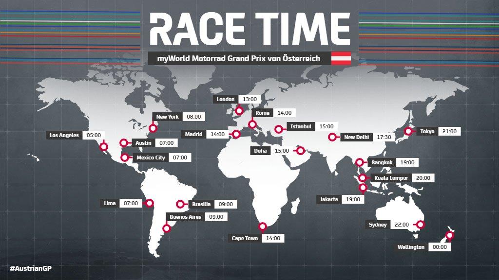 Austrian MotoGP 2020 Live Stream, Schedule & Live Telecast Info of My World Motorrad Grand Prix von Österreich