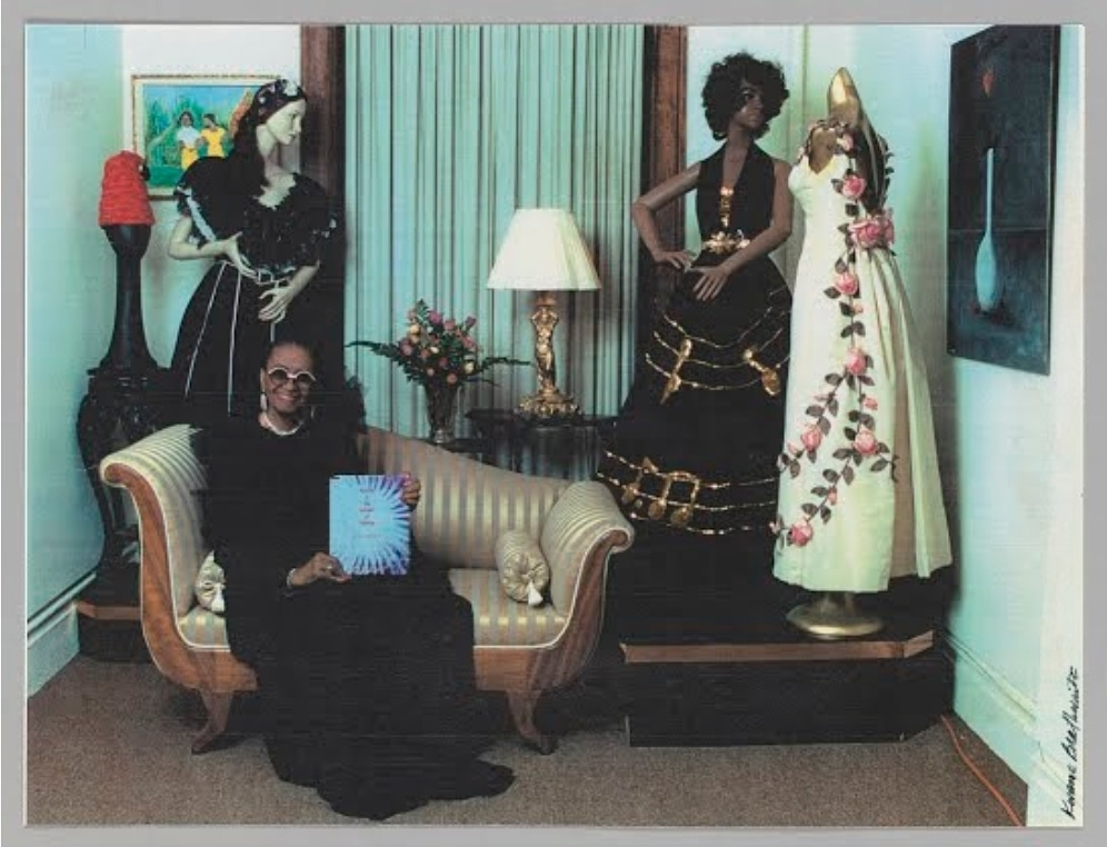 Whatgrandmawore On Twitter Lois K Alexander Lane Was An African American Fashion Designer And The Founder Of The Black Fashion Museum In 1979 Which Has Now Been Donated To The Nmaahc This Is A