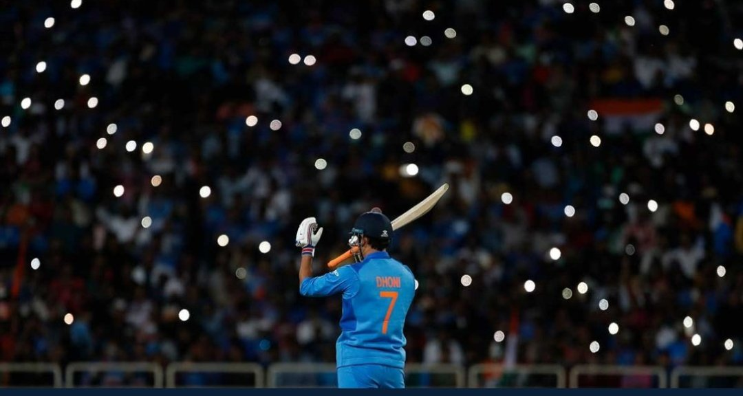 MS Dhoni announces his retirement from international cricket. Thank you for the magic, MSD!