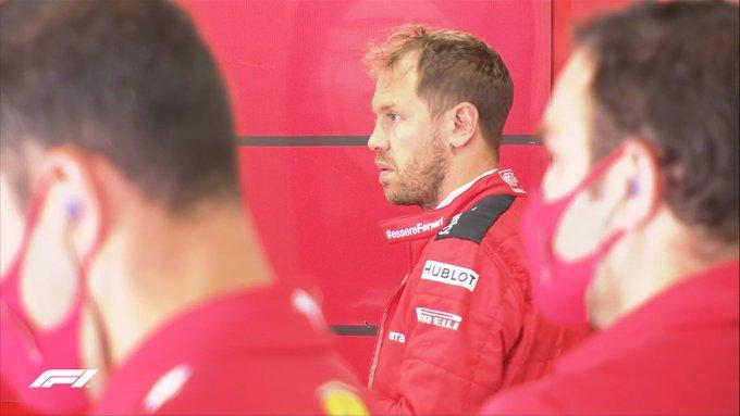 Vettel se prepara ...
