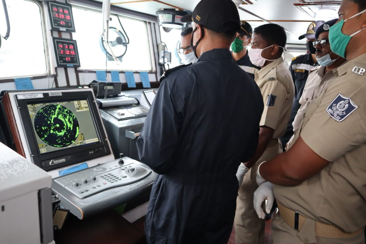 ICG commences synergised joint patrol and training with State Marine Police