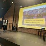 Image for the Tweet beginning: Ihanat nuoret @AdinaNivukoski ja @uusikokkoelli
