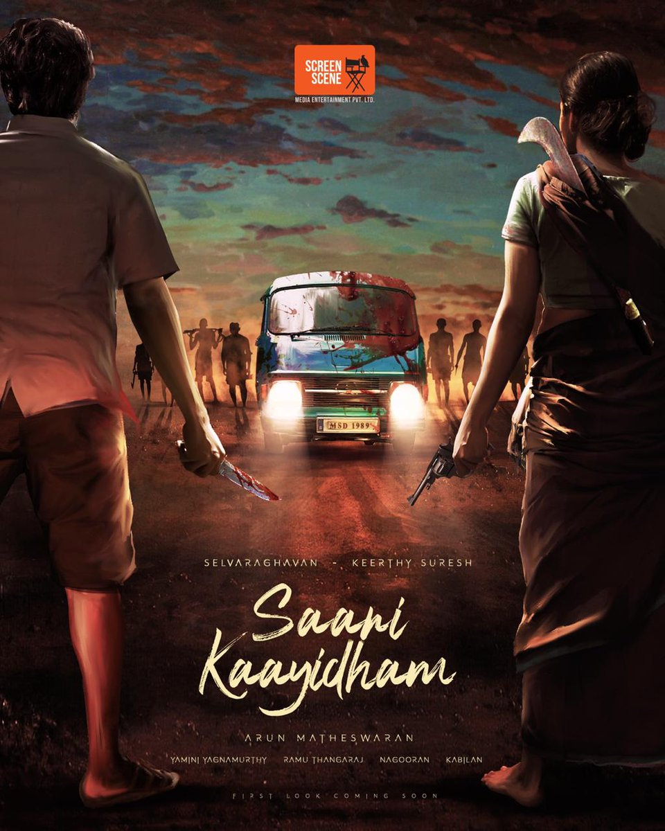 We are thrilled to bring together the super talented @KeerthyOfficial & legendary @selvaraghavan - The actor, for the first ever time in #SaaniKaayidham 💥💥💥  @arunmatheswaran @yaminiyag @ramu_thangaraj @Inagseditor @CtcMediaboy @onlynikil @kabilanchelliah @Jagadishbliss https://t.co/8QROnj4ZIW