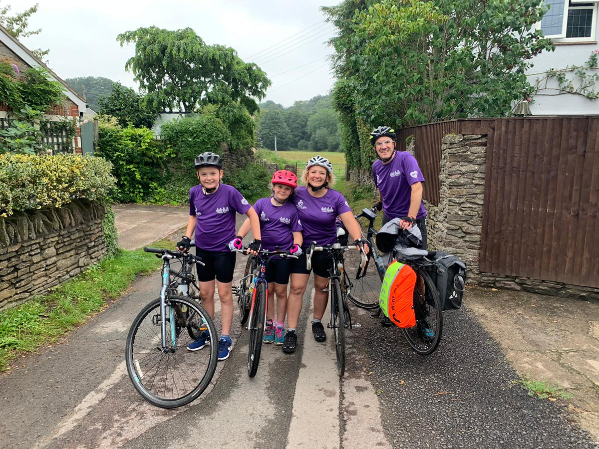 Day 2 of #teamBatesCharityCycletoWales for @newlifebabies is complete! A well earned rest this afternoon after 55 miles total, ready for final 23 miles tomorrow. @JamesBates https://t.co/Yp9GTW5BjD https://t.co/k7grrpvOS7