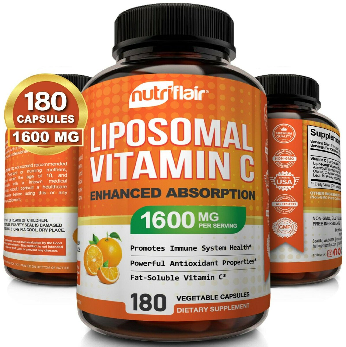 NutriFlair Liposomal Vitamin C 1600mg, 180 Capsules Fat Soluble Vit Supplements Item specifics ...22518https://omarhamad.com/?feed_id=106419https://omarhamad.com/?feed_id=106419