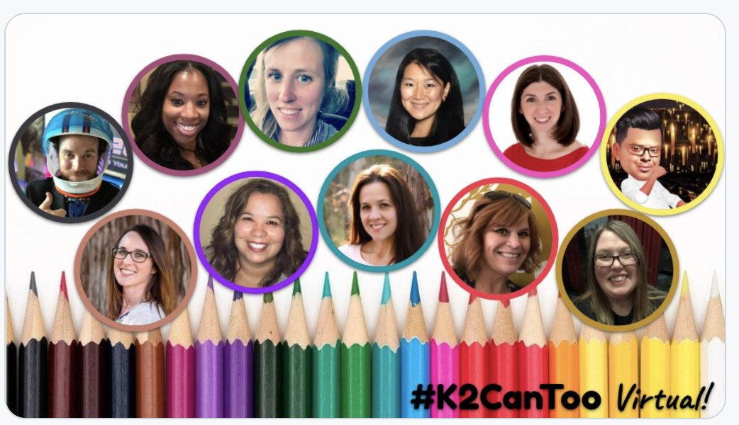 I decided to go to Canada this weekend! Virtual learning with #K2CanToo never feels like work. Learning and collaborating with folks who adore TK-2nd graders just like me. It's going to be a fantastic weekend! @cogswell_ben @KindRockets @EdTechSpec @TechCoachSusan https://t.co/07KVbScyFQ