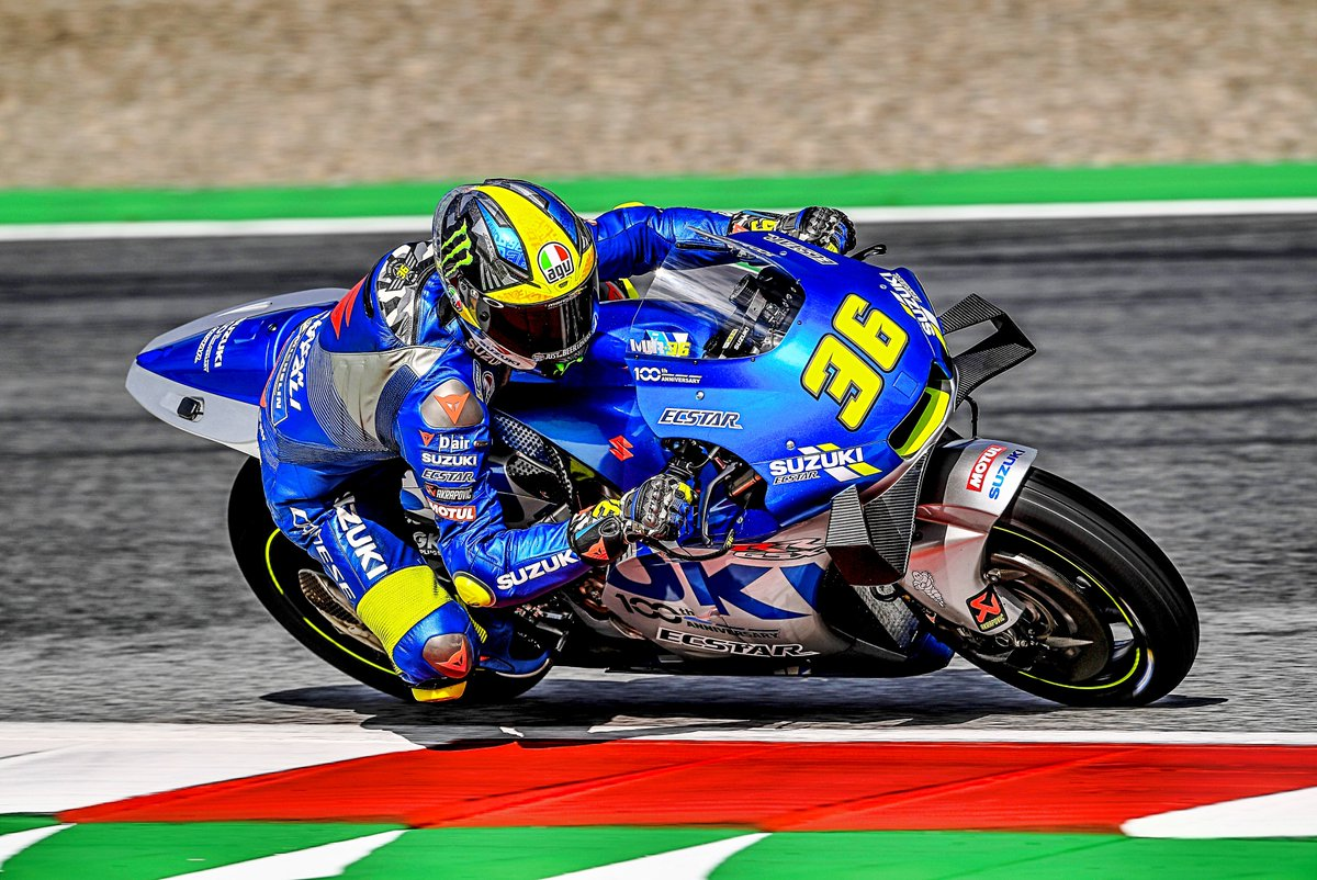AUSTRIAN GP AWAITS CONFIDENT MIR AND RINS, 6TH AND 8TH. Despite a wet start to Saturday in Spielberg, Joan Mir and Alex Rins confirmed their positive feelings with the GSX-RR and good grid spots for tomorrow's GP: suzuki-racing.com/motogp/AUSTRIA… @JoanMirOfficial @alexrins @suzukimotogp