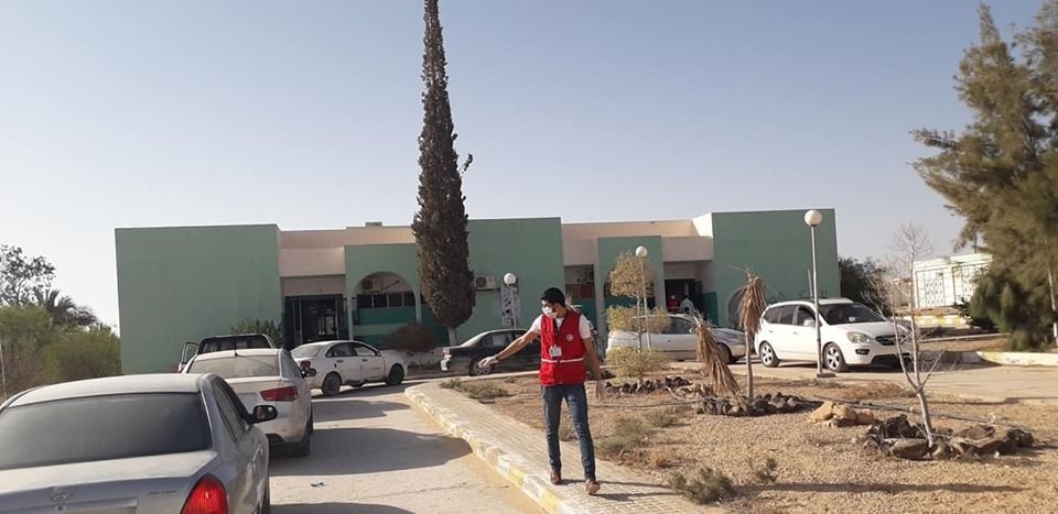 #Libya'n red crescent volunteers work in co-ordination with health authorities in #BaniWalid organizing baby & children vaccinations while taking #covid19 precautions into consideration  #ليبيا https://t.co/DmAS5eqkWt