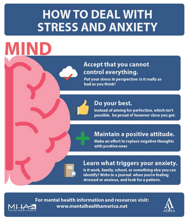 How To Deal With Stress & Anxiety...