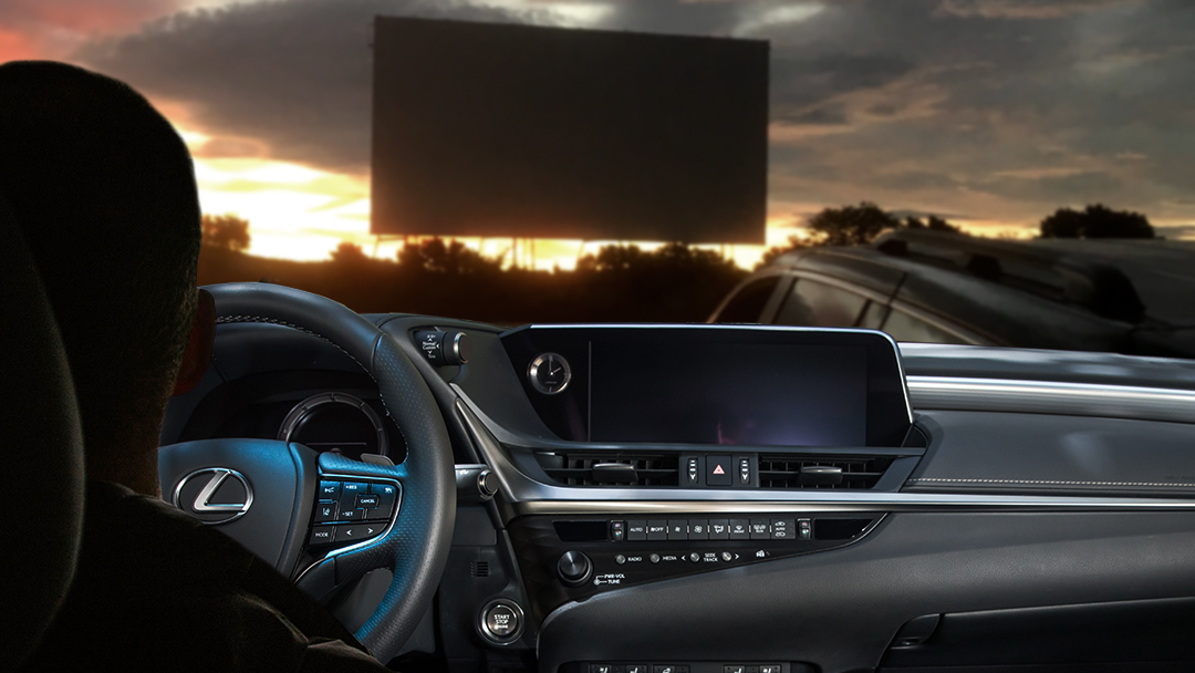Now, you can Experience Amazing at the movies. What's the best part of drive-in movies in a Lexus?