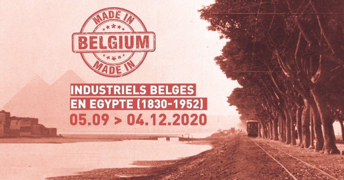 🇧🇪👷Made in Belgium. Belgische industriëlen in Egypt (1830-1952)🏗️🇪🇬  Binnenkort op de site van @BoisduLuc, deze expo van de collega's van @MuseeMariemont over de geschiedenis van de Belgische industriële aanwezigheid in Egypte!  Een must visit! https://t.co/j397wNmkvO